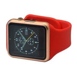 Red Rose Gold Smart Watch