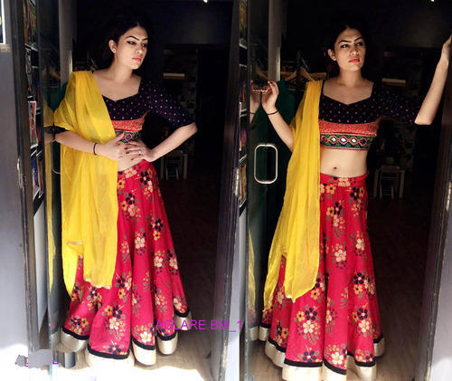 d9fe9d094bb92f Designer Indian Embroidery Work Lehenga Choli at Rs 1200 /piece ...