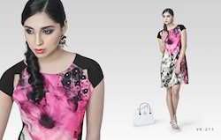 Indo Western Georgette Designer Kurtis
