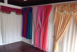 designer curtain in thrissur kerala get latest price from suppliers of designer curtain. Black Bedroom Furniture Sets. Home Design Ideas