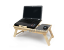 Wooden Folding Laptop Table