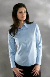Full Sleeve Plain Shirt For Girls Cotton