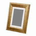 Golden Wooden Photo Frame