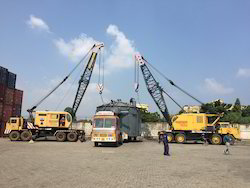 Mobile, Crawler, Lattice, Telescopic & Truck Mounted 20MT TO 50MT