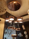 Fluorescent Bulb Round Hanging Chandelier, For Home, Hotel, Model Name/number: 6205nle