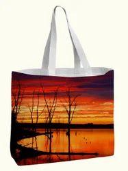Natural Digital Printed Bag