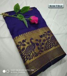 Morni Banarasi Silk Saree