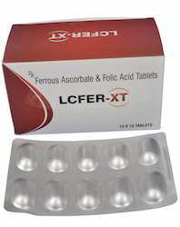 Ferrous Ascorbate Folic Acid Tablet