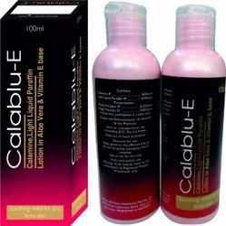 Calamine Light Liquid Paraffin Lotion Alovera Vitamin E Base