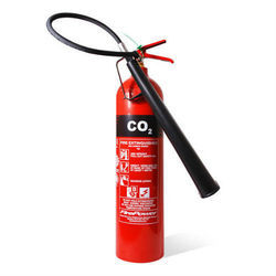 Iron C Class CO2 Type Fire Extinguishers, For Industrial Use