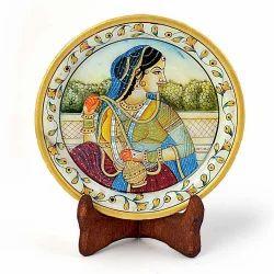 Rajasthani Princess Marble Painting 397