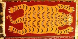 Tibetan Carpet (Tiger Design)