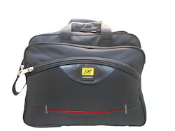 Black Polyester Office Bag