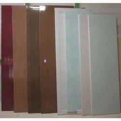Glossy Bathroom PVC Panel Door