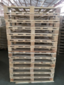 4 Way Single Deck Non-reversible Wooden Pallets
