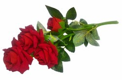 Hyperboles Artificial Rose Bunch