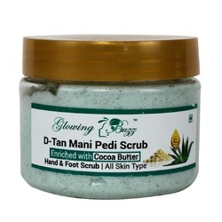 Glowing Buzz D Tan Mani Pedi Scrub, Pack Size: 200