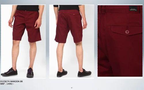 Mens Shorts - Mens High Fashion Cargo Bermudas - Checkered ...