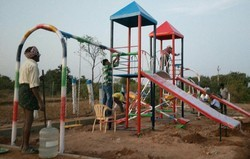 Two Pillar Multi Play System