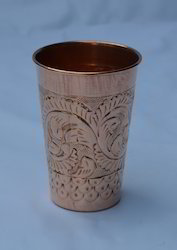 Copper Designer Glass