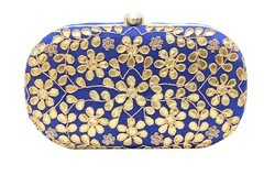 Traditional Gotta Patti Box Clutch
