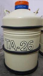 TA-26 LIQUID NITROGEN CONTAINER CRYOCAN