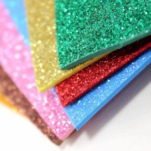 Glitter Sheets Paper Glitter Sheet Manufacturer From Delhi