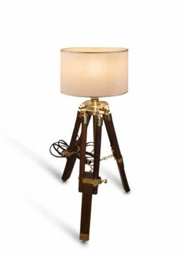Nautical mini wooden tripod table lamp shade home umar survey nautical mini wooden tripod table lamp shade home aloadofball Gallery