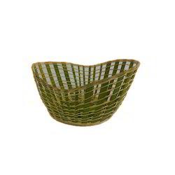 Bamboo Boat Basket