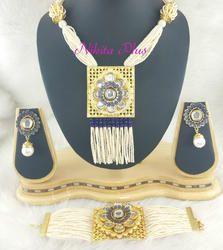 Gold Plated Mala Set