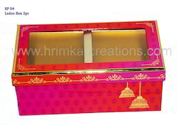 Ladoo Rigid Box 2 Pcs