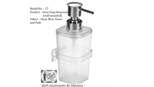 Unbreakable Soap Dispenser Wall Mounted Bathroom Soap Dispenser