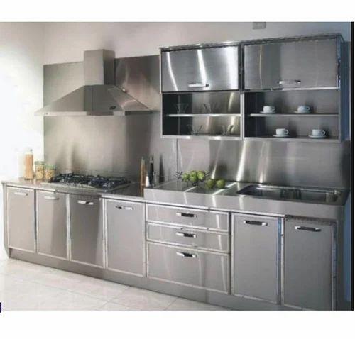 Metal Modular Kitchen at Rs 3200 /sqft | Teynampet | Chennai | ID ...