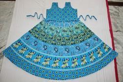 Blue Women Middy Dress