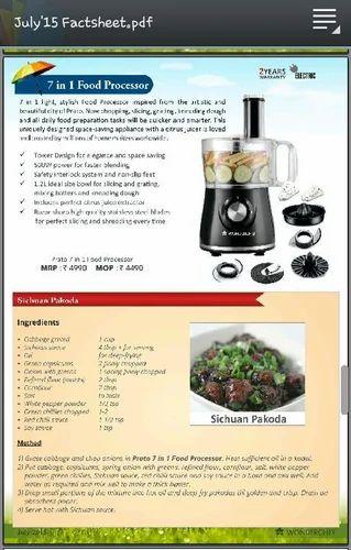 Wonderchef 7 in 1 food processor prauma trading ludhiana id wonderchef 7 in 1 food processor forumfinder Gallery