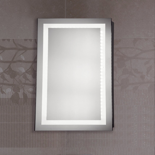 Square LED Mirror | Fancy Frame Glass Stores | Wholesale Trader in ...
