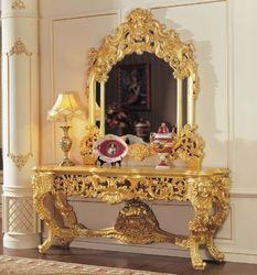 Gold Leaf on Dressing Table