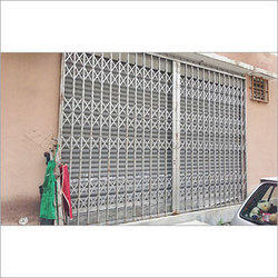 Industrial Collapsible Gate