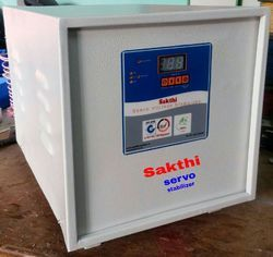 Three Phase Mild Steel Servo Stabilizer, Capacity (Kva): 1 Kva To 25 Kva, 170 To 270 V