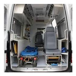 Ambulance Interior Design Service