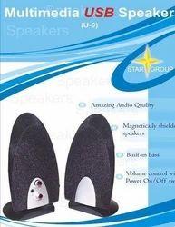 Star U 9 USB 2.0 Multimedia Speaker