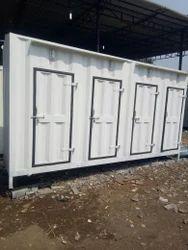 Mild Steel Mobile Toilets