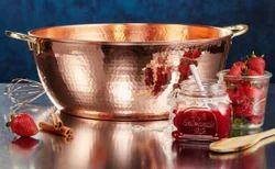 K&T 300-400 Gm Vintage Copper Large Bowl