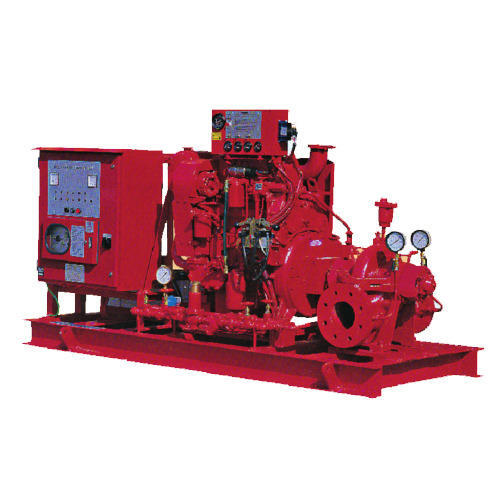 Split Case Diesel Drive Fire Pump
