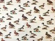 Hand Block Duck Printed Fabrics