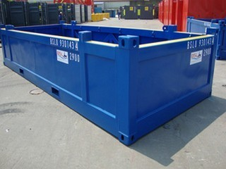 Open Offshore Half Height Containers - A  D  Engineering, Navi