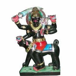 Black Marble Bhairav Nath Statue