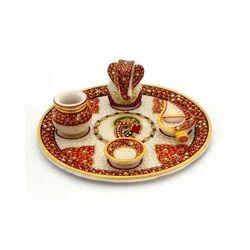 Lord Ganesha Idol Pooja Thali 389