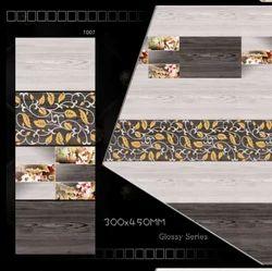Digital 12x18 High Gloss Wall Tile, Thickness: 5-10 mm