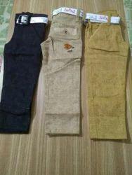 Boys 3 Colour Cotton Pent